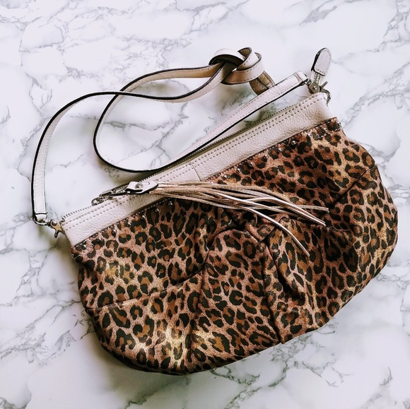 5d2a84901a1b B Makowsky Metallic Leather Crossbody Bag